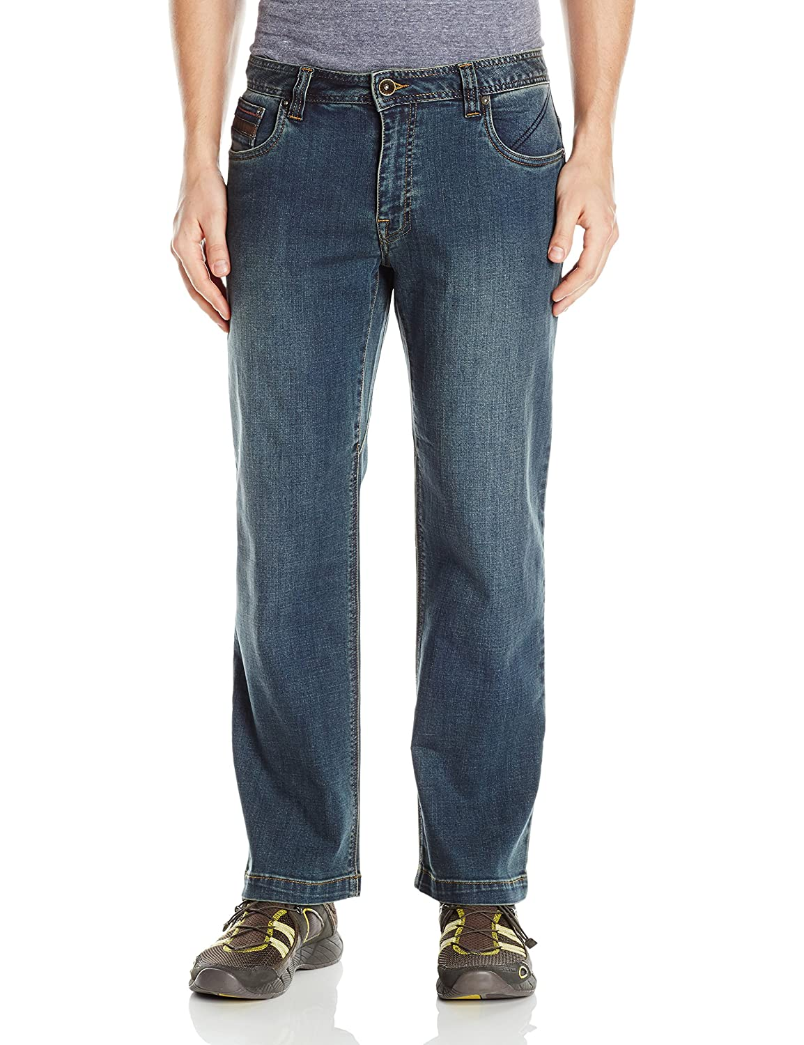 "PrAna Men& 039;s M41173002 Axiom Jean 30"" Inseam, Antique Stone Wash, Größe 33"