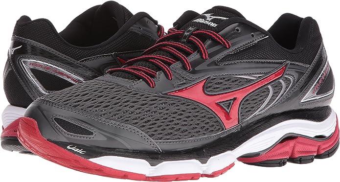Mizuno Hombres Wave Inspire 13 Las Zapatillas de Running, 7,5 D de EE.UU. Bronce/Alto Riesgo Rojo 6,5 M Reino Unido: Amazon.es: Zapatos y complementos