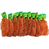 YETHAN Copper Scouring Pad, 10 Pcs/Pack, 100% Pure Copper, 13g / Pc