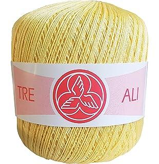 Ovillos de algodón medir 5 (100g) para ganchillo o crochet: Amazon ...