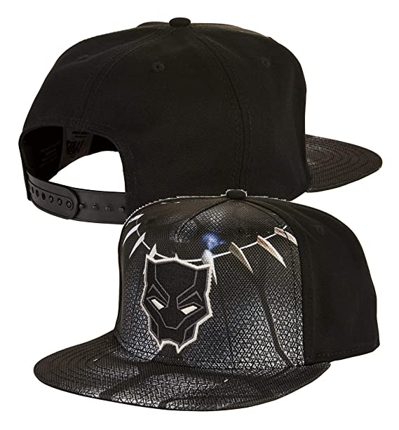 b6c06be73 Marvel Black Panther Snapback Hat