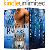 Wolf Valley Raiders Complete Series: BBW Paranormal Shape Shifter Romance (English Edition)