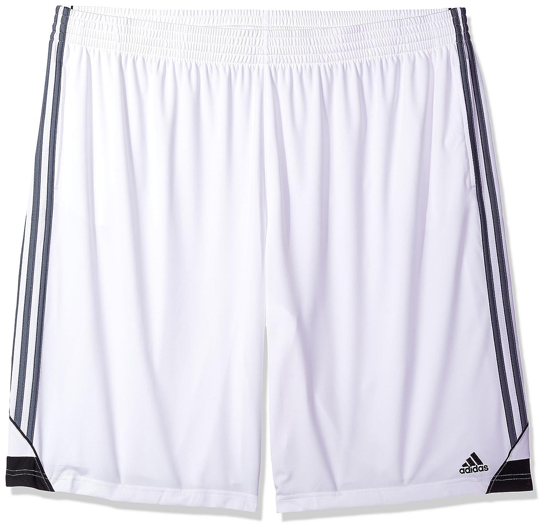 Adidasメンズ3Gスピード ビッグ&トール ショートパンツ B01N4G1JRE 4X-Large|White/Onix White/Onix 4X-Large