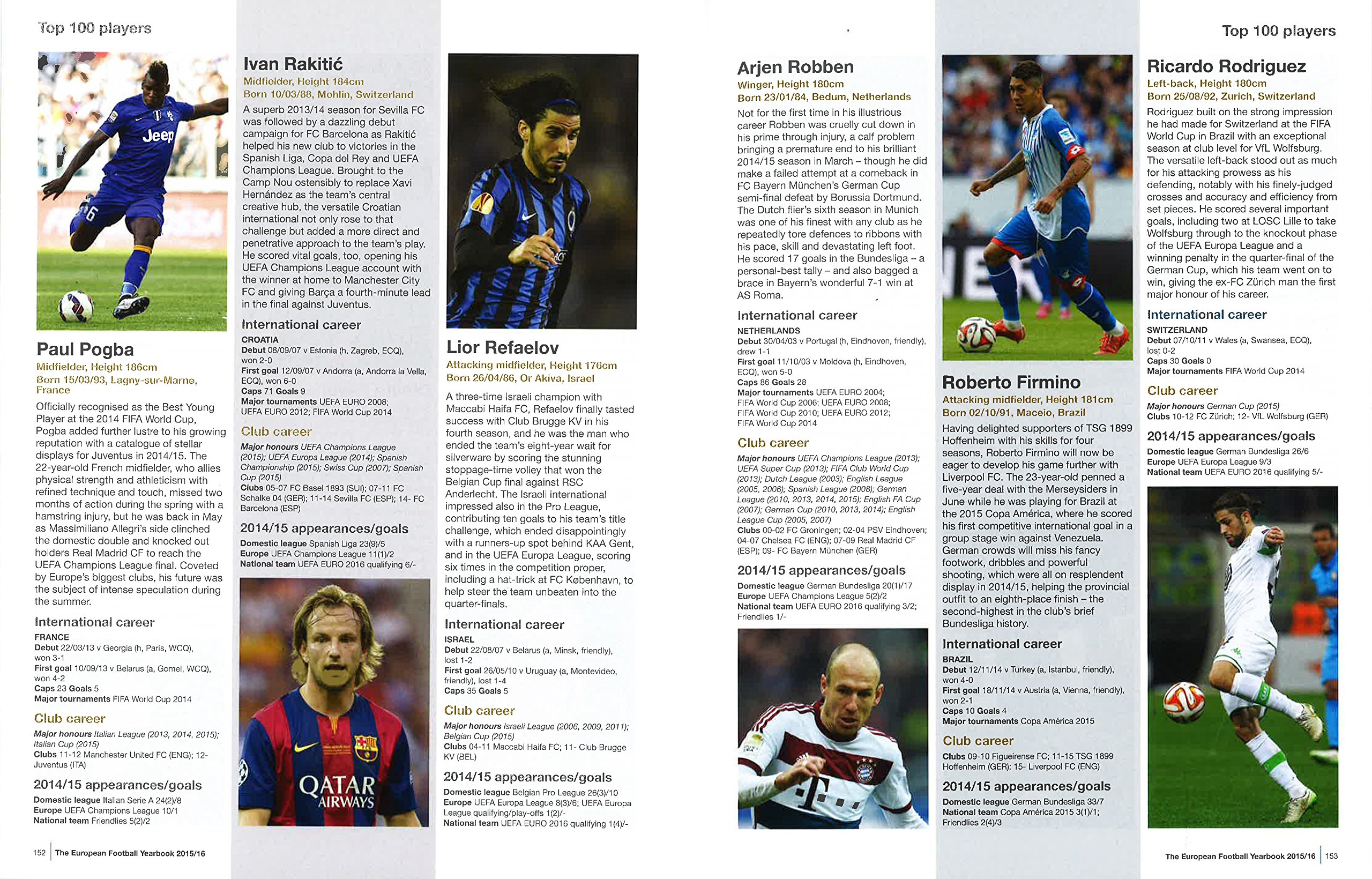 UEFA European Football Yearbook 15-16  UEFA 1338ef779f6ba