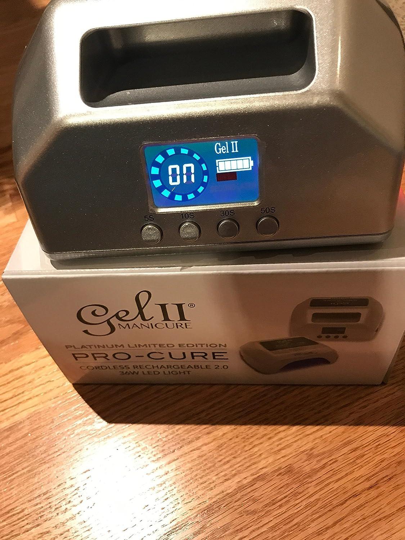 Amazon.com: Gel II Pro-Cure 2.0 inalámbrico recargable ...