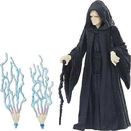 3.75/'/' Hasbro Star Wars Emperor Palpatine Action Figure Toy