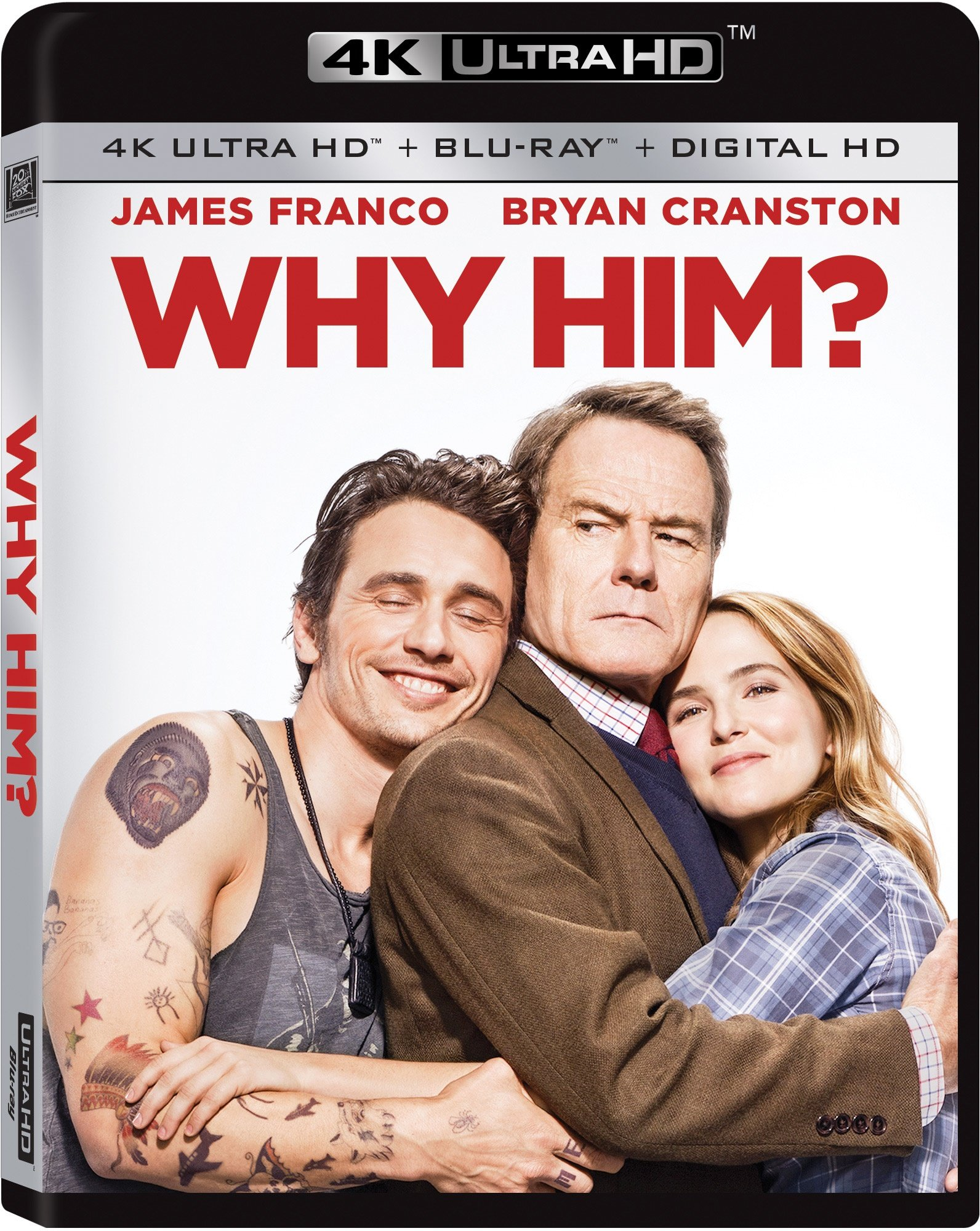 4K Blu-ray : Why Him? (4K Mastering, , Dubbed, Widescreen, Digital Theater System)