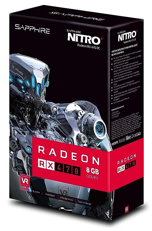 Sapphire 11256-02-20G Radeon RX 470 8GB GDDR5 - Tarjeta ...