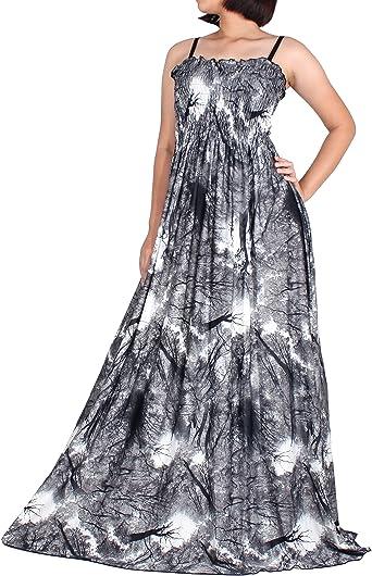 Amazon Com The Womenland Women Maxi Dress Plus Size Black White Boho B W Wedding Summer Party Prom Clothing,Wedding Dress Shops In Miami