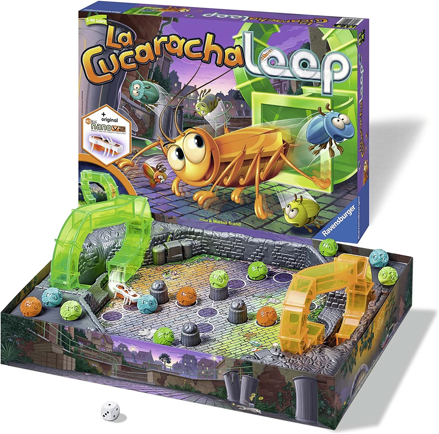 Ravensburger - La Cucaracha Loop, Juego Educativo (21125 8 ...