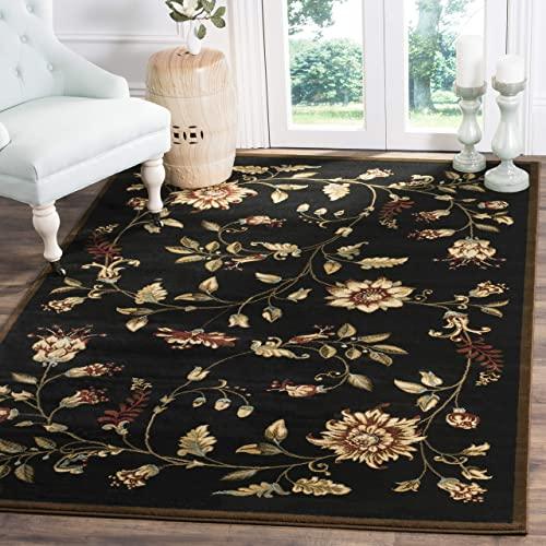 Editors' Choice: Safavieh Lyndhurst Collection LNH552 Traditional Floral Non-Shedding Stain Resistant Living Room Bedroom Area Rug
