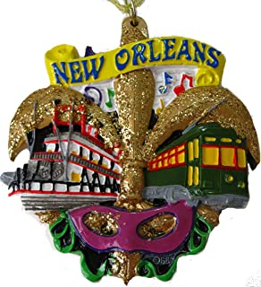 New Orleans Christmas Ornaments.Amazon Com New Orleans Christmas Ornament Scenery Fleur De