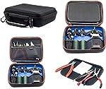 Vape Case for e Cig Vaping Tools Batteries Coils Tanks Box
