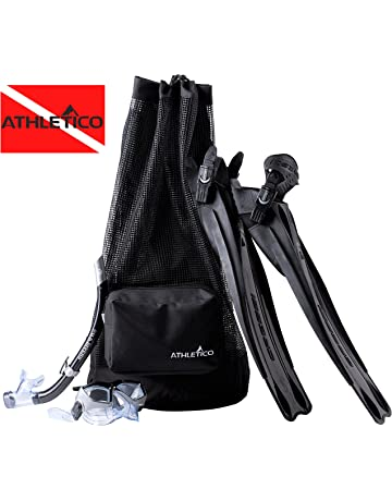 Athletico Scuba Diving Bag - XL Mesh Travel Backpack for Scuba Diving and Snorkeling Gear &