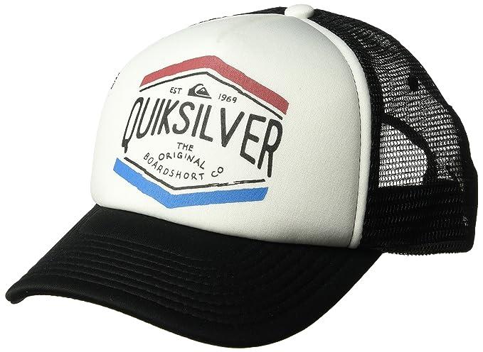 ea6274c9ae1 Amazon.com  Quiksilver Men s CROCKED Out Trucker HAT