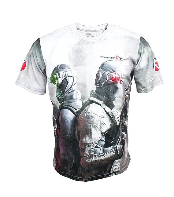 CS Go Counter Strike Fun Cool juego camiseta: Amazon.es: Ropa y accesorios