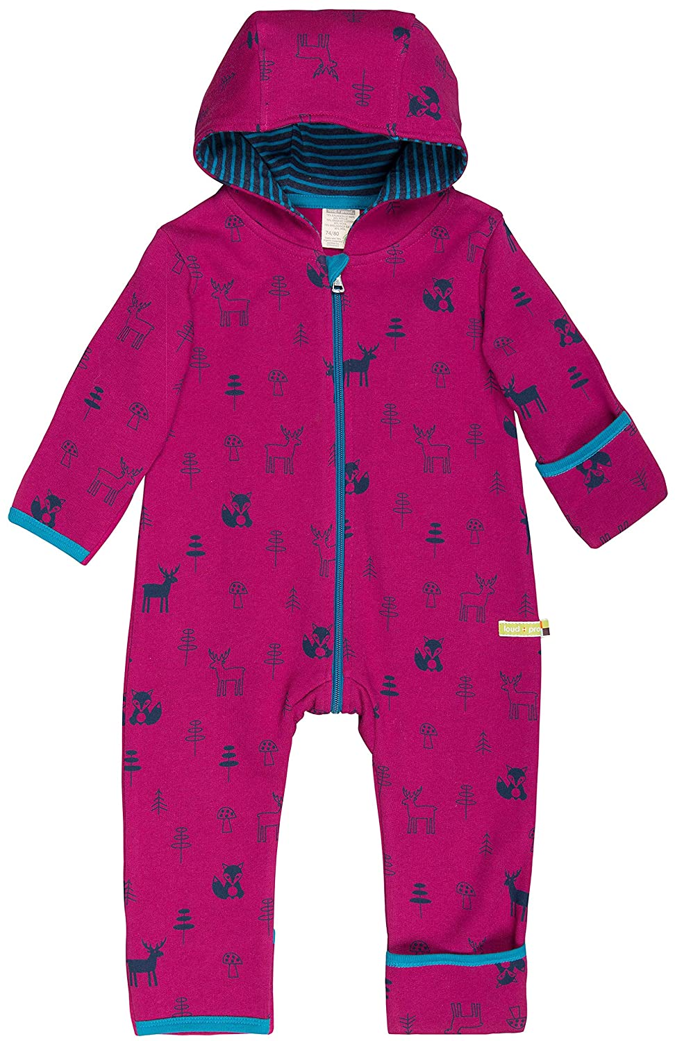 loud + proud Baby-Mädchen Strampler Overall Woll-Anteil 5035