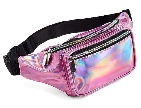e3010efa5d92 Pink Holographic Fanny Pack Victoria Secret For Women Grils Festival Rave  Fanny Pink
