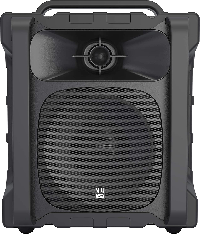 Altec Lansing IMT804N Sonic Boom 2 - Ultimate Waterproof Bluetooth Speaker, IP67 Outdoor Bluetooth Speaker Shockproof, 50 Ft Wireless Range, 20 Hours Battery Life