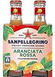 Sanpellegrino Italian Sparkling Drinks Aranciata Rossa (Blood Orange), 24 x 200 mL