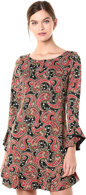 Laundry by Shelli Segal Women's Reversible Matte Jersey Dress