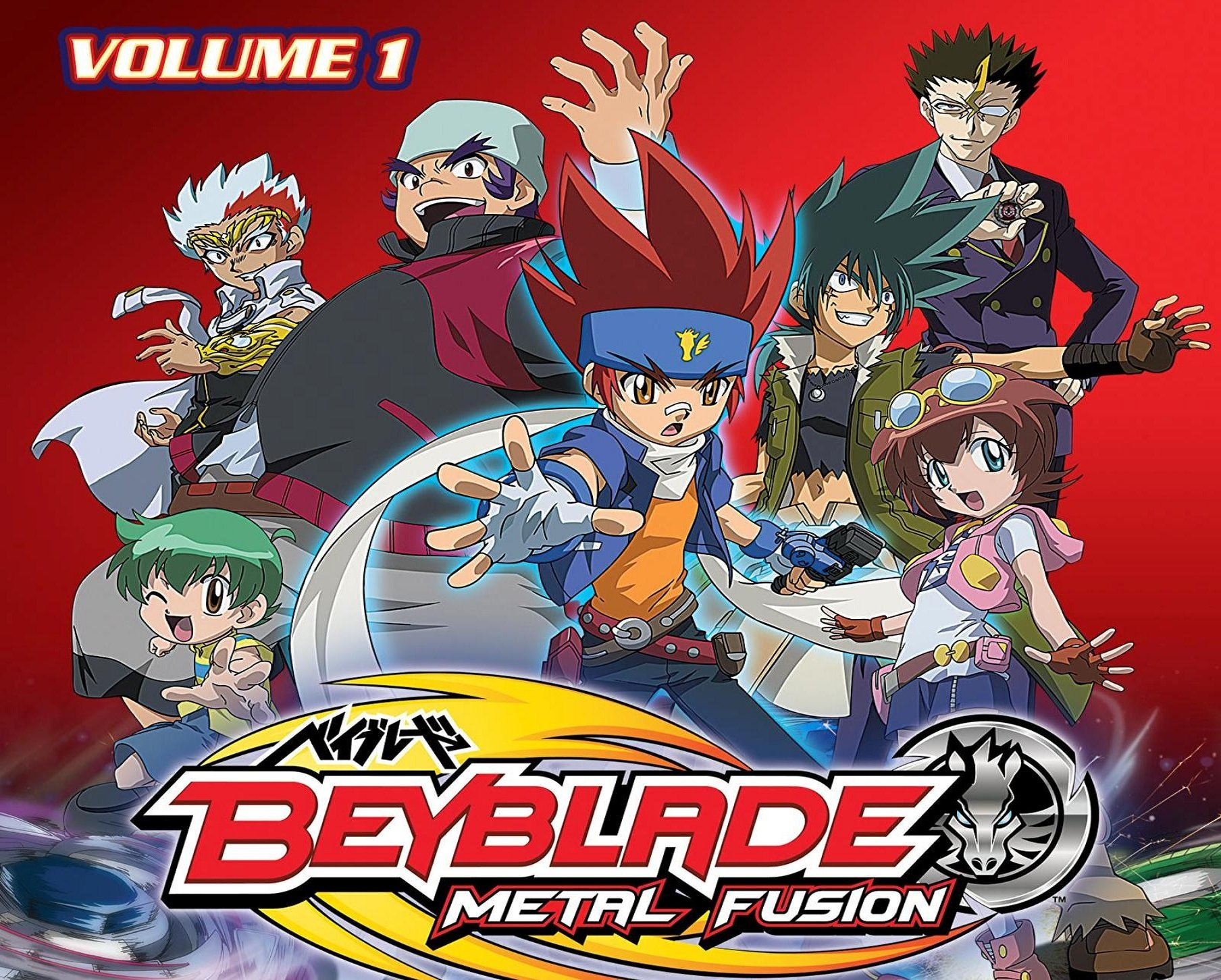 Watch Beyblade: Metal Fusion Volume 1 (English Dubbed ...