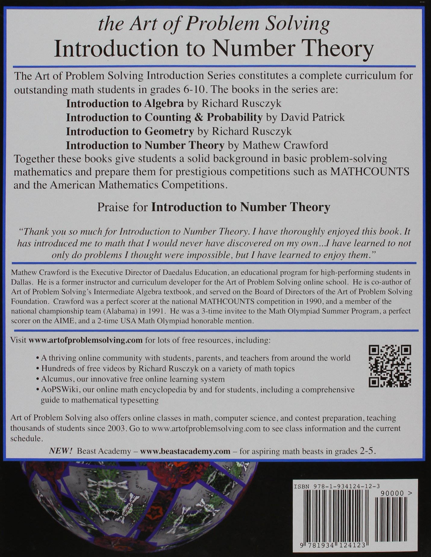 Buy Introduction to Number Theory (Art of Problem Solving