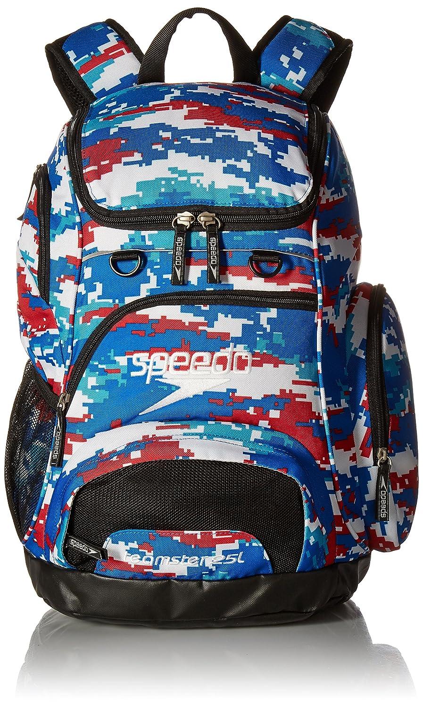 Speedo Medium Teamster Backpack, Black/Black, 25-Liter 7520116