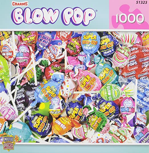MasterPieces Candy Brands Blow Pops Jigsaw Puzzle, 1000-Piece