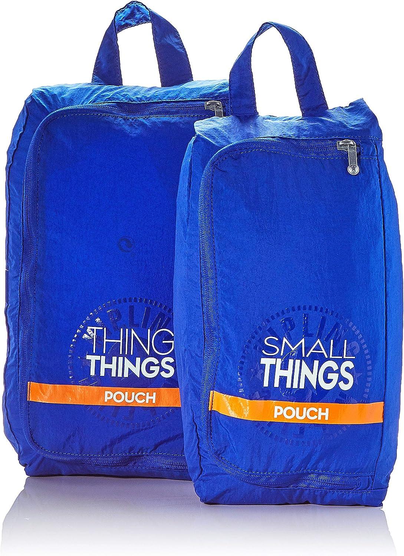 Kipling Pack Things Organizador para Maletas, 1 cm, Liters, Azul (Laserblue Light)