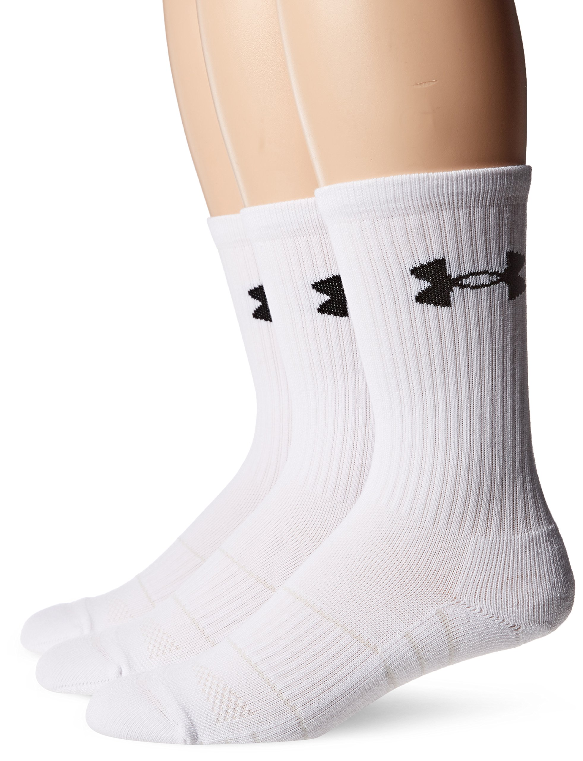 Under Armour UA Performance Crew - 3-Pack MD White by Under Armour