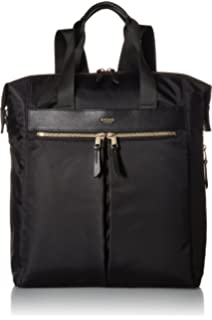 5af09a142646 Amazon.com: Knomo Luggage Women's Beaux Business Backpack, Black ...