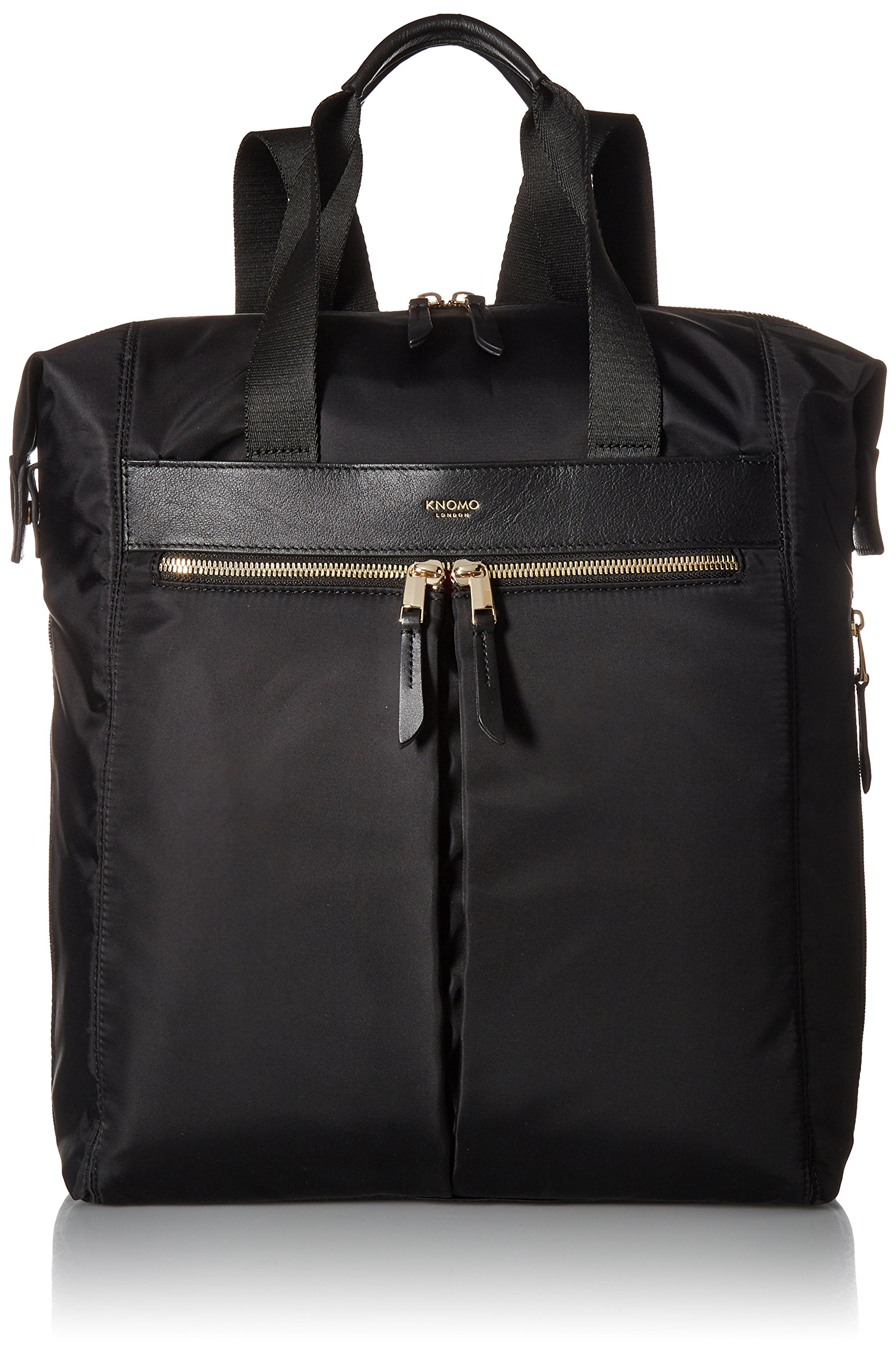 Knomo Luggage Women's Chiltern Business Backpack, Black, One Size by Knomo (Image #1)