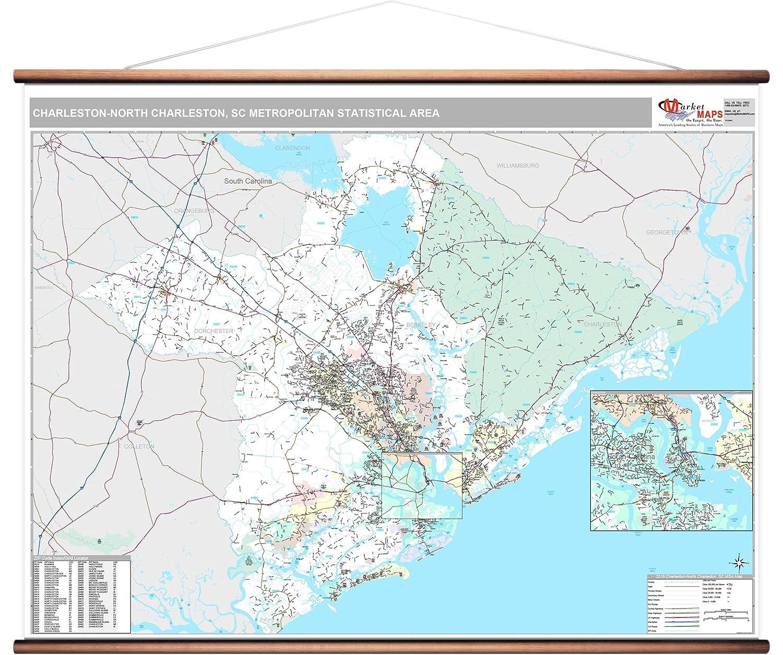 Amazon Com Marketmaps Charleston North Charleston Sc Metro Area