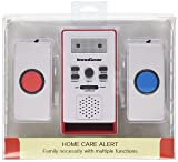 InnoGear Caregiver Pager with Two Call Button for