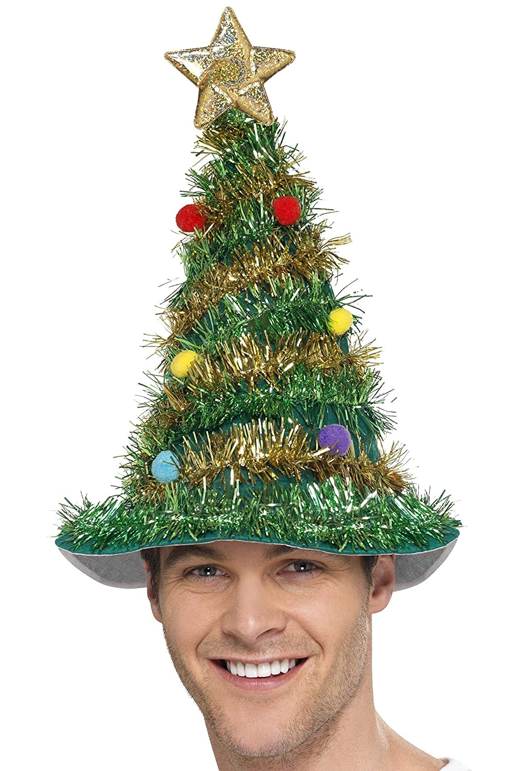 Amazon Com Christmas Tree Hat Costume Accessory Toys Games