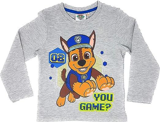 Camiseta de manga larga para niño de Paw-Patrol