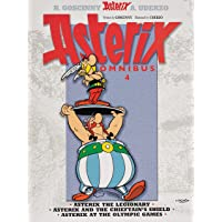 Asterix: Asterix Omnibus 4: Asterix The Legionary, Asterix and The Chieftain's Shield, Asterix at The Olympic Games