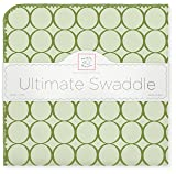 SwaddleDesigns Ultimate Swaddle, X-Large Receiving