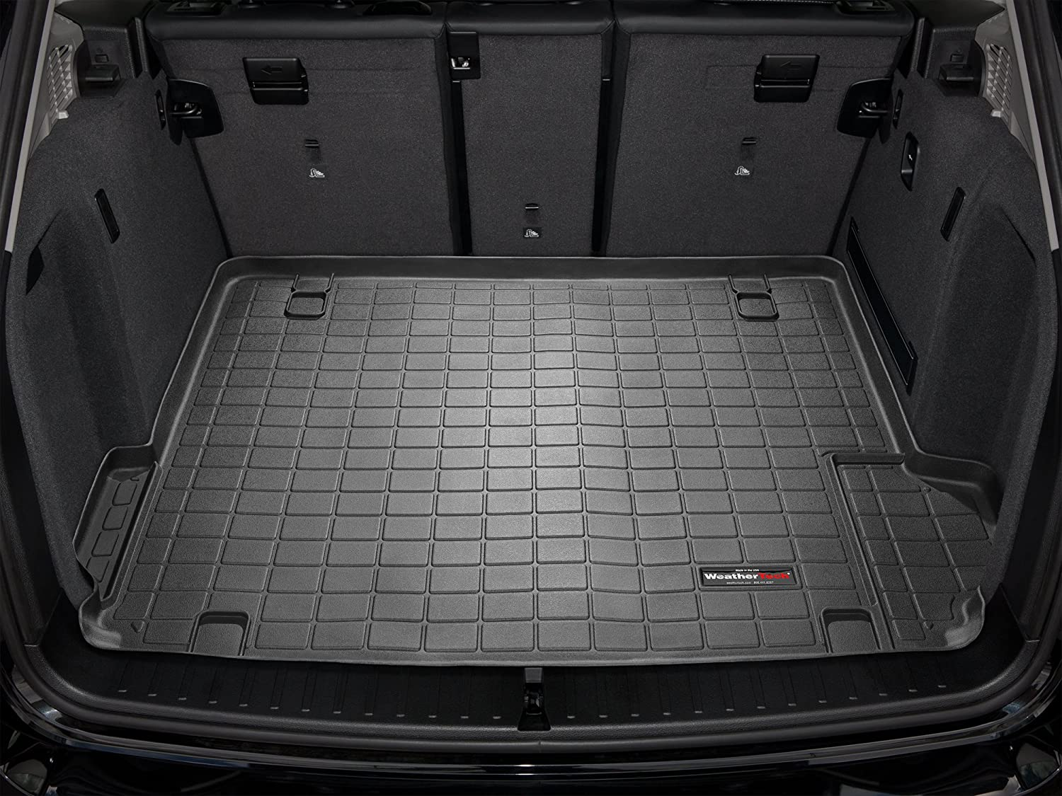 Amazon com weathertech custom cargo liner trunk mat bmw x3 2011 2016 black automotive