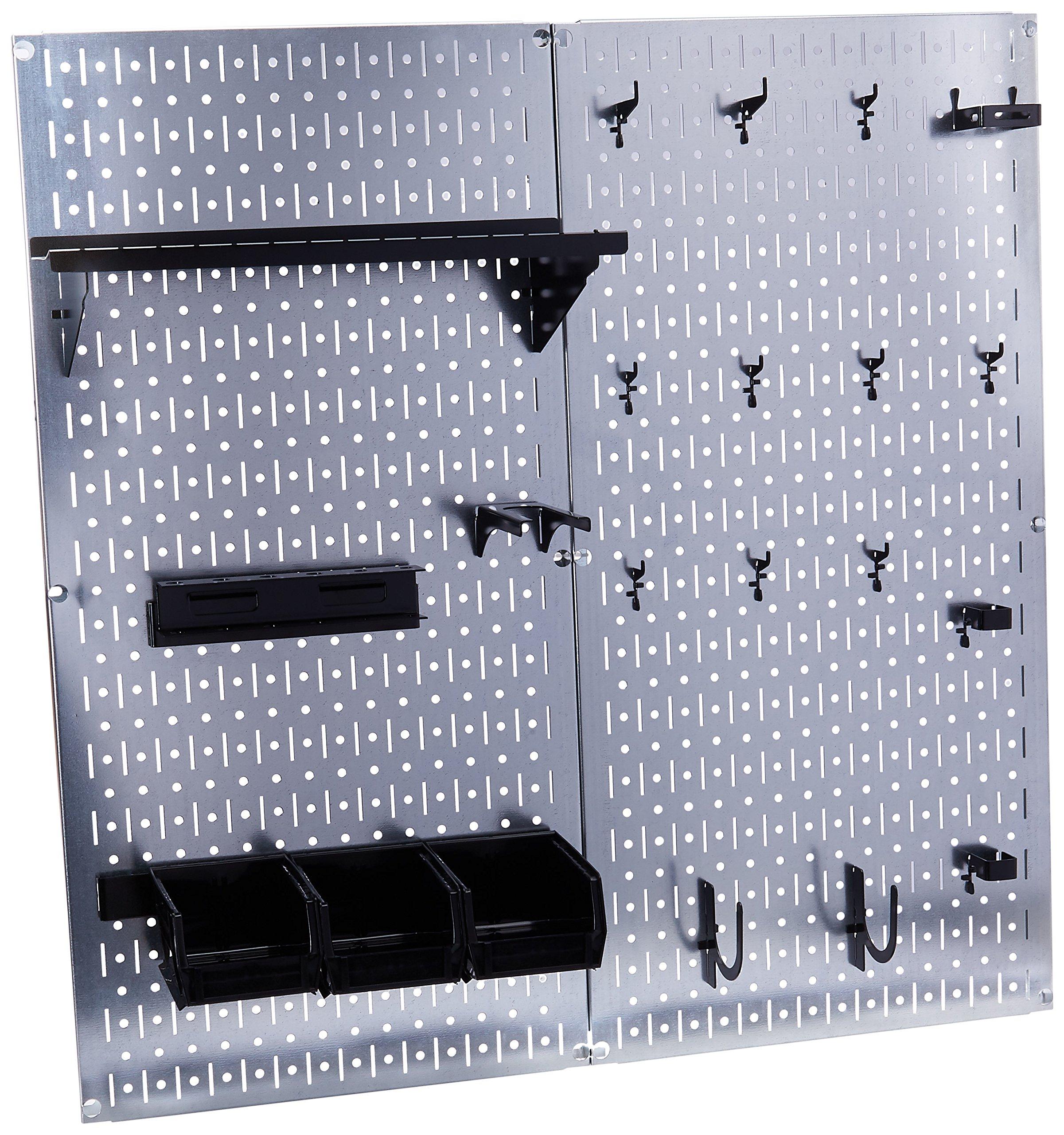 Wall Control 30-WGL-200GVB Galvanized Steel Pegboard Tool Organizer by Wall Control