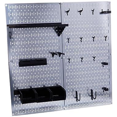 Wall Control 30-WGL-200GVB Galvanized Steel Pegboard Tool Organizer