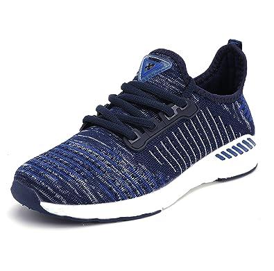 Damen Mesh Sneaker Laufschuhe Turnschuhe Atmungsaktive Schnür Schuhe Leicht Sportschuhe schwarz - All Black - Größe: 40 EU Px8ag7ve