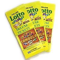Anspan Deluxe Lotto Housie Tambola Tickets (Multicolour) - Set of 1800