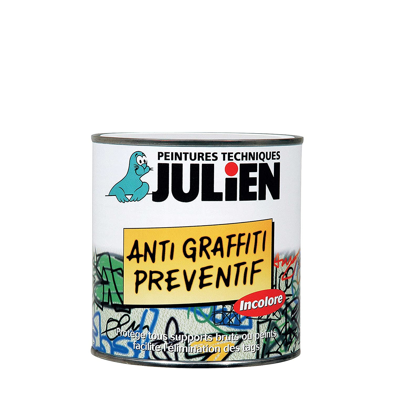 Julien - Vernis Julien Anti Graffiti Préventif - Incolore Satiné 0, 5 L AkzoNobel 5108228
