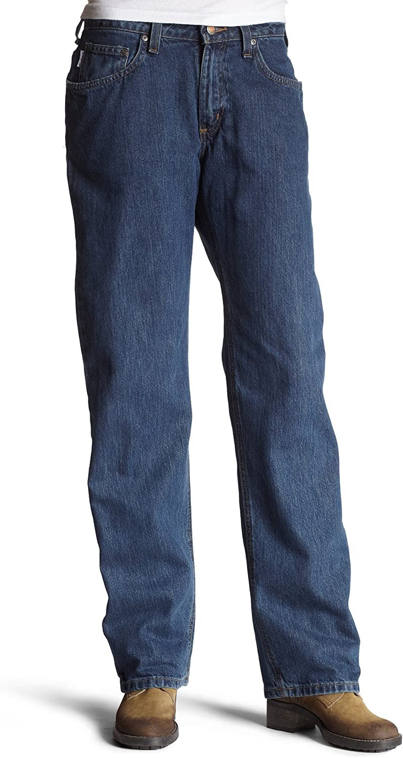Amazon Com Carhartt Women S Relaxed Fit Jean Straight Leg Clothing Relevancy best selling increasing decreasing. carhartt women s relaxed fit jean straight leg