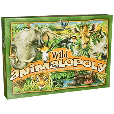 Late for the Sky Wild Animalopoly: Toys & Games