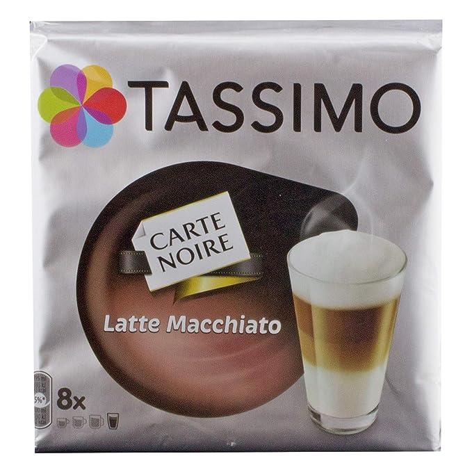 Tassimo Carte Noire Latte Macchiato, Café, Café con leche, Café Cápsula T de