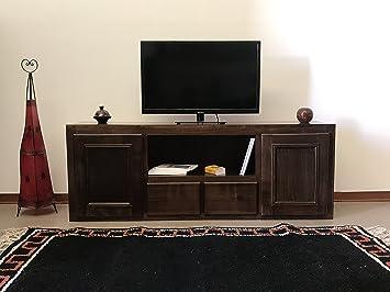 Etnico Arredo Mobile TV Wohnzimmer Wohnwand Ethnic aus Massivholz ...