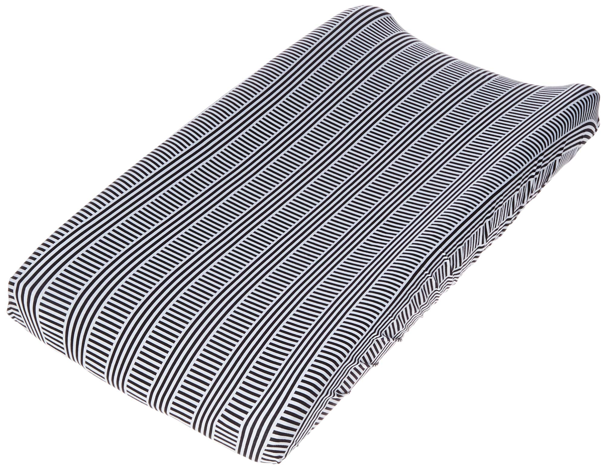 Oilo Black & White Changing Pad Cover by Oilo